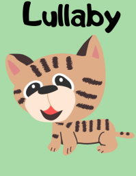 Lullaby Cat Poster