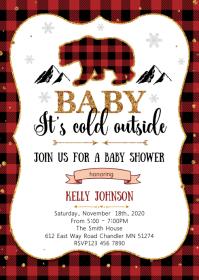 1 000 Baby Shower Invitation Customizable Design Templates