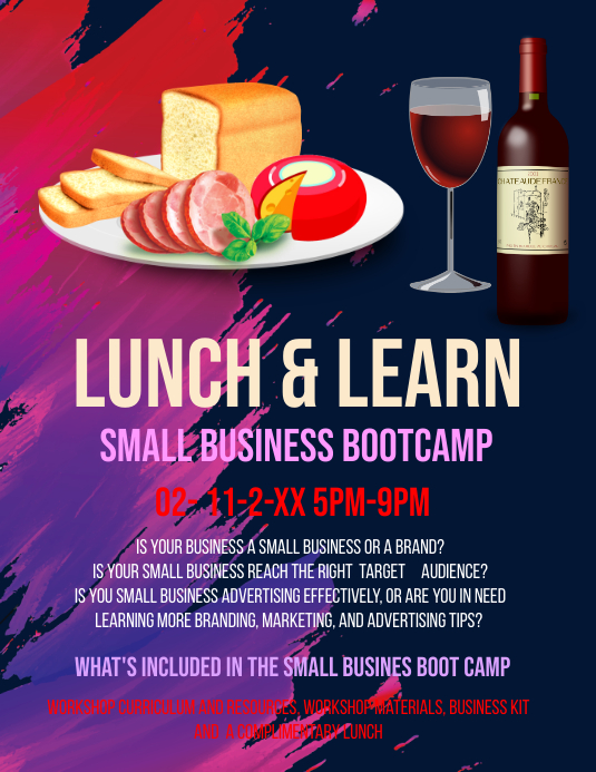 Lunch & Learn Template Flyer (US Letter)