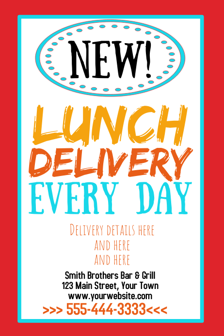 Lunch Delivery
