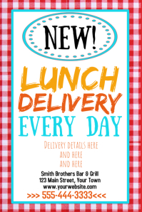 Lunch Delivery Iphosta template