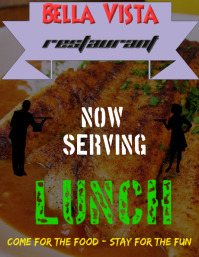 Lunch Flyer