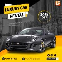Luxury Car Quadrato (1:1) template