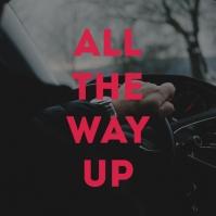 Luxury Car Interior Album Song Cover Art template