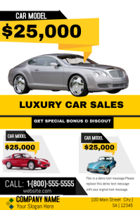Luxury Car Sales