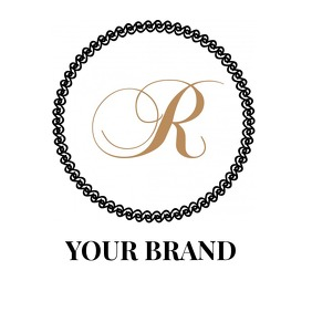 LUXURY CIRCLE RING LOGO template