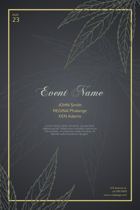 Luxury Event Flyer Template