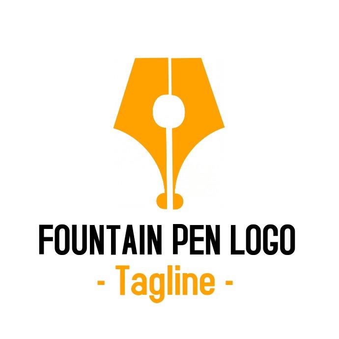 luxury Fountain pen logo