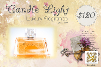 Luxury good promotion flyer