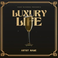 LUXURY Mixtape/Album Cover Art Publicación de Instagram template
