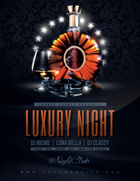 LUXURY NIGHT Flyer Template
