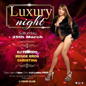 Luxury Night Poster