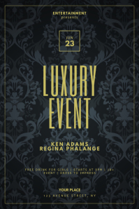 Luxury Vip Event Flyer Template