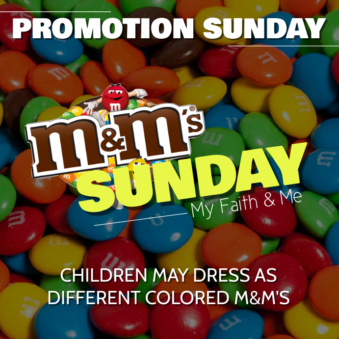 M M Sunday Template Postermywall