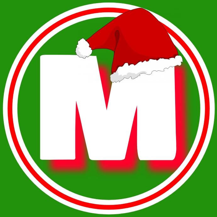 M logo 徽标 template