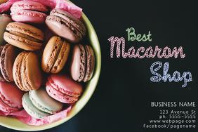 Macaron Flyer Template