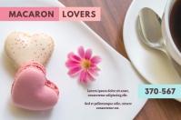 Macaron Lovers 标签 template