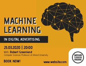 Machine Learning Brain Illustration Video