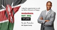 Madaraka day Facebook Shared Image template