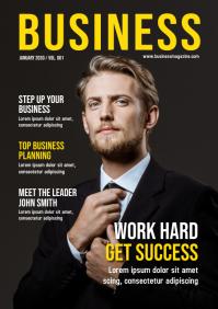 Magazine Cover Design Template A4