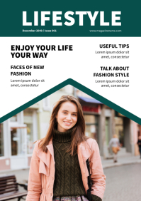 Magazine Cover Template A4