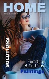 magazine Portada de Kindle template