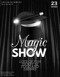 Magic Show Flyer Template