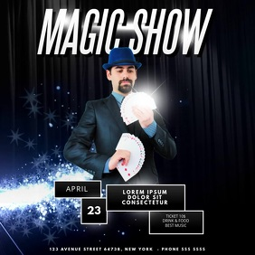 Magic Show Video Advertising Template