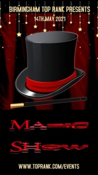 Magic Show Video Template