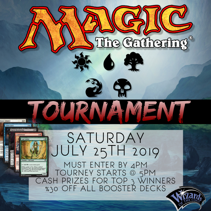 MAGIC THE GATHERING DECK TOURNAMENT