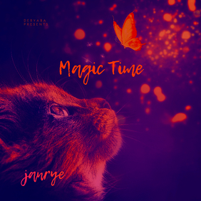 Magic Time CD Cover Template