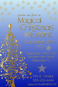 Magical Christmas Event Iphosta template