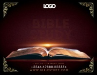 Mahogany Church Bible Study Session Advert Sl