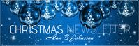 mail header christmas newsletter E-mail-overskrift template
