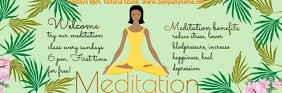 Mail header meditation template