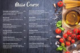 Main course Menu