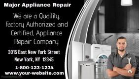 major appliance repair business card template postermywall rh postermywall com appliance repair business cards templates Appliance Repair Ads