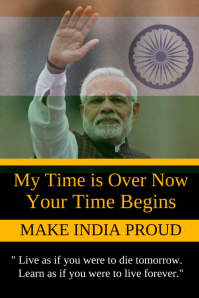 Make India Proud Poster Template