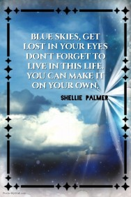 Make It Yours: Shellie Palmer Poster Quote
