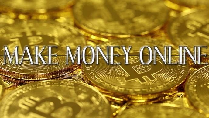Make money online Facebook 封面视频 (16:9) template