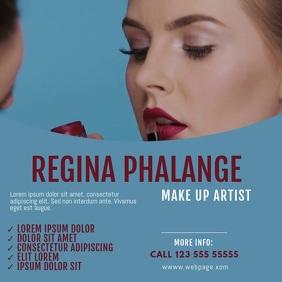 make up artist video ad template