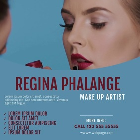 make up artist video ad template