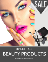 Make Up Sale Flyer