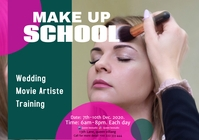 make up school 6 A2 template
