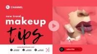make up YouTube thumbnail template