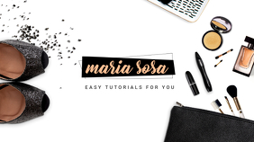 Makeup and Fashion Tutorials YouTube Banner