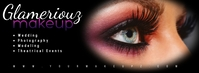 Makeup Art Nail Design Beauty Banner Facebook-coverfoto template