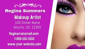 Customizable design templates for makeup artist business card makeup artist business card wajeb Gallery
