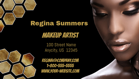 Customizable design templates for makeup artist business card makeup artist business card fbccfo Gallery