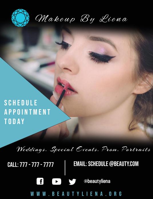 Makeup artist flyer Template | PosterMyWall